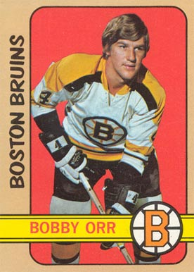 1972 Topps Bobby Orr #100 Hockey Card