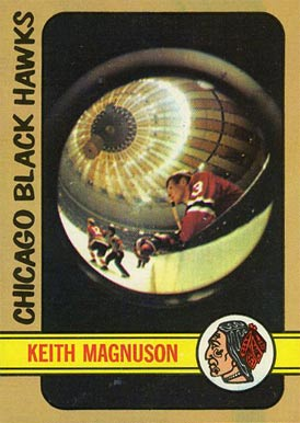 1972 Topps Keith Magnuson #87 Hockey Card