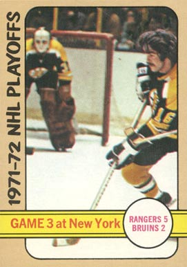 1972 Topps   #4 Hockey Card
