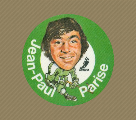 1973 Mac's Milk Jean-Paul Parise #20 Hockey Card