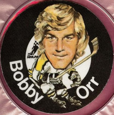 1973 Mac's Milk Bobby Orr #19 Hockey Card