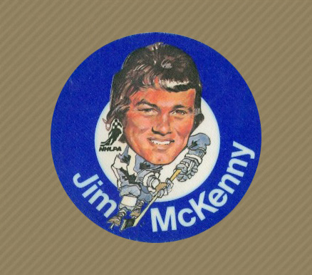 1973 Mac's Milk Jim McKenny #18 Hockey Card
