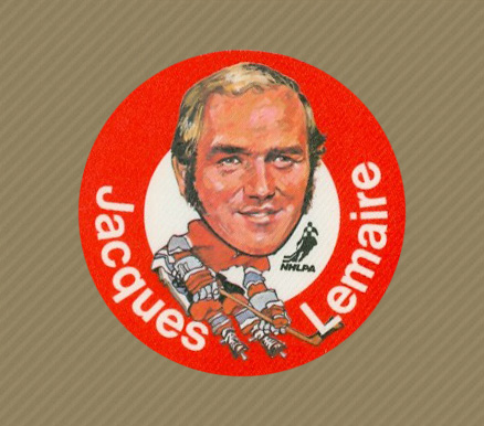 1973 Mac's Milk Jacques Lemaire #14 Hockey Card