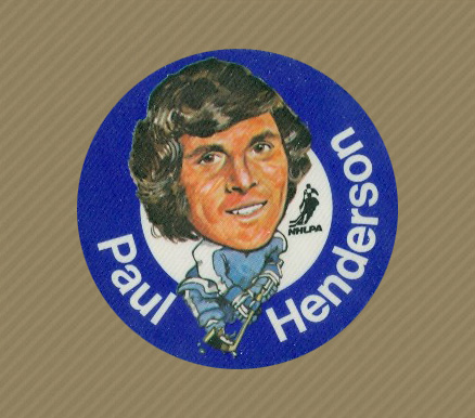 1973 Mac's Milk Paul Henderson #9 Hockey Card