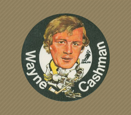 1973 Mac's Milk Wayne Cashman #3 Hockey Card