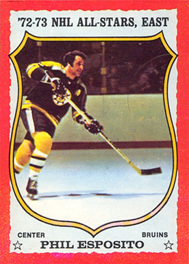 1973 O-Pee-Chee Phil Esposito #120 Hockey Card