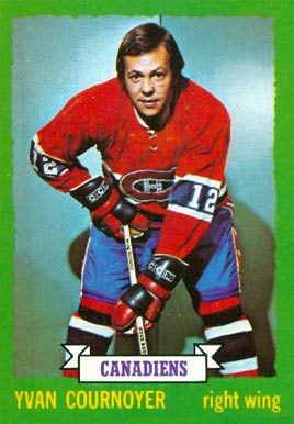 1973 O-Pee-Chee Yvan Cournoyer #157 Hockey Card