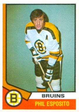1974 O-Pee-Chee Phil Esposito #200 Hockey Card