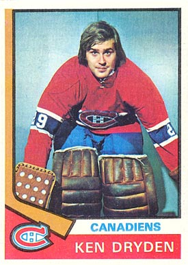 Ken Dryden Hall Of Fame Hockey Cards