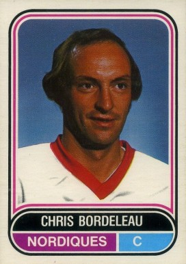 1975 O-Pee-Chee WHA Chris Bordeleau #116 Hockey Card