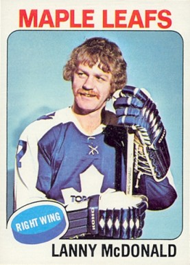 1975 Topps Lanny McDonald #23 Hockey Card