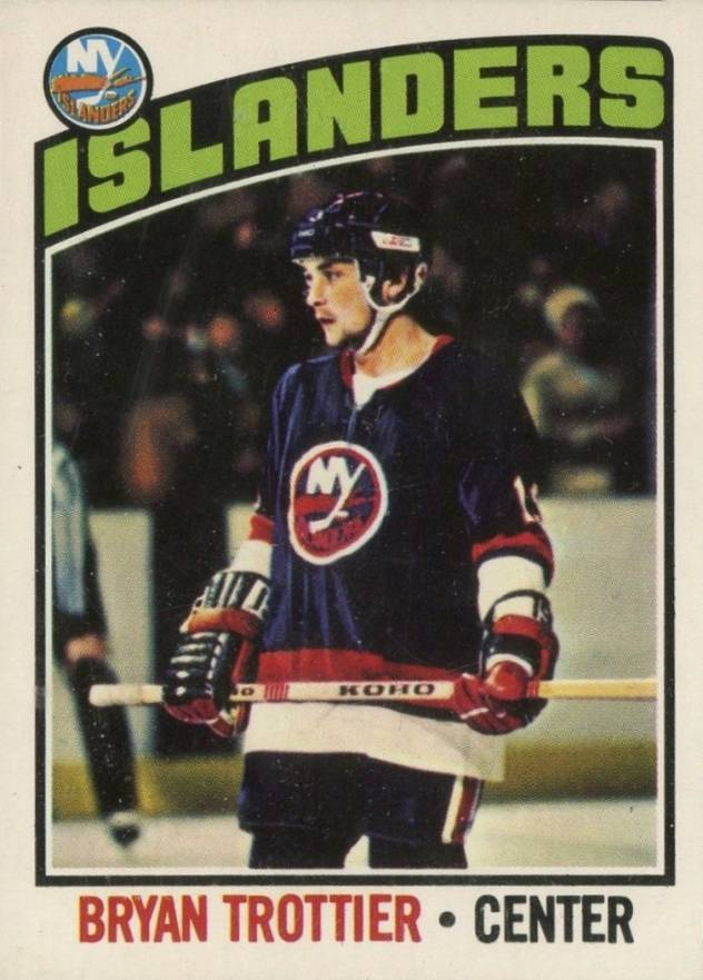 1976 O-Pee-Chee Bryan Trottier #115 Hockey Card