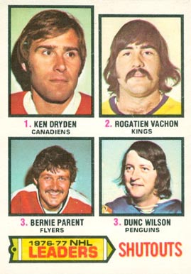 1977 O-Pee-Chee Ken Dryden #8 Hockey Card