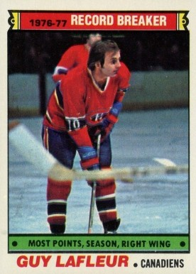 1977 Topps Guy LaFleur #214 Hockey Card