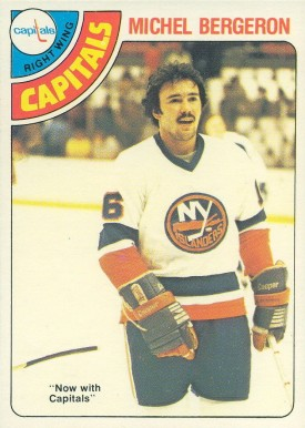 1978 O-Pee-Chee Michel Bergeron #273 Hockey Card