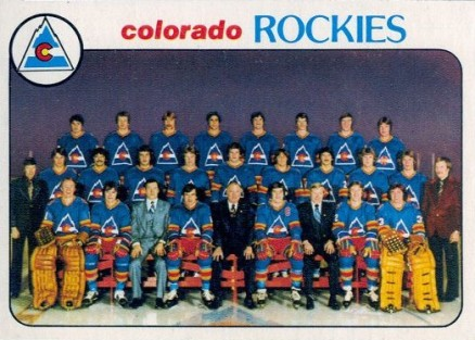 1978 O-Pee-Chee Rockies Team #196 Hockey Card