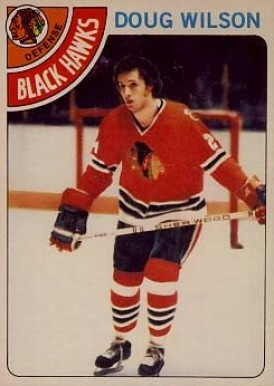 1978 O-Pee-Chee Doug Wilson #168 Hockey Card