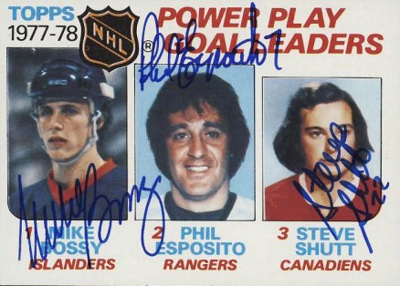 1978 Topps Power Play Goal Leaders #67 Hockey Card