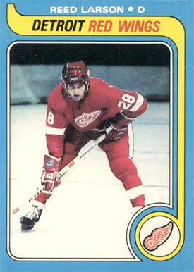 1979 O-Pee-Chee Reed Larson #213 Hockey Card