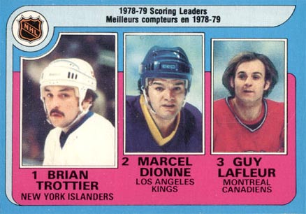 1979 O-Pee-Chee Scoring Leaders #3 Hockey Card