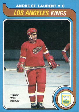 1979 O-Pee-Chee Andre St. Laurent #73 Hockey Card