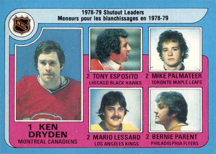 1979 O-Pee-Chee Ken Dryden #8 Hockey Card