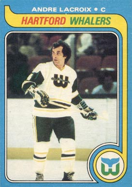 1979 Topps Andre LaCroix #107 Hockey Card