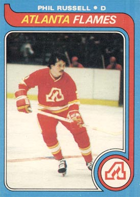 1979 Topps Phil Russell #143 Hockey Card