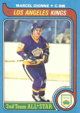 1979 Topps Marcel Dionne #160 Hockey Card
