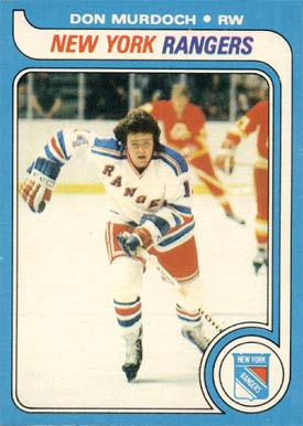 1979 Topps Don Murdoch #168 Hockey Card