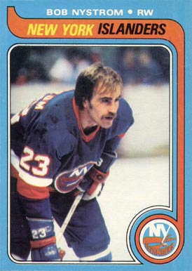 1979 Topps Bob Nystrom #217 Hockey Card