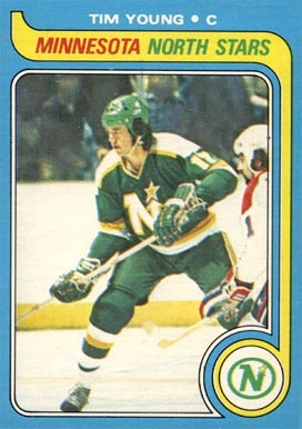1979 Topps Tim Young #36 Hockey Card