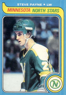 1979 Topps Steve Payne #64 Hockey Card