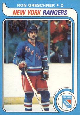 1979 Topps Ron Greschner #78 Hockey Card
