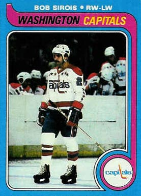1979 Topps Bob Sirois #29 Hockey Card