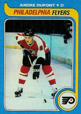1979 Topps Andre Dupont #178 Hockey Card
