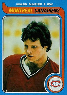 1979 Topps Mark Napier #222 Hockey Card