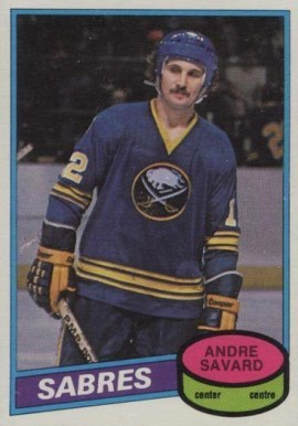 1980 O-Pee-Chee Andre Savard #375 Hockey Card
