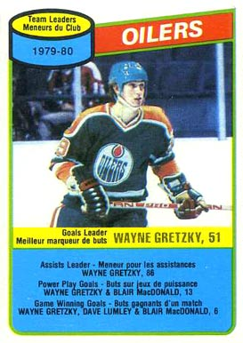 1980 O-Pee-Chee Goals Leaders #182 Hockey Card