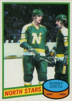 1980 O-Pee-Chee Bobby Smith #17 Hockey Card