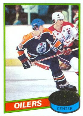 1980 Topps Wayne Gretzky #250 Hockey Card