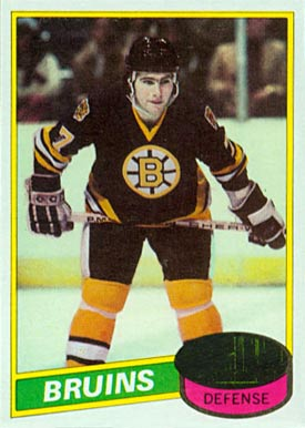 1980 Topps Ray Bourque #140 Hockey Card