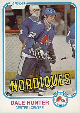1981 O-Pee-Chee Dale Hunter #277 Hockey Card