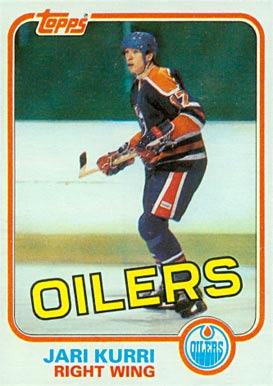 1981 Topps Jari Kurri #18 Hockey Card