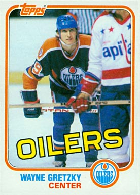 1981 Topps Wayne Gretzky #16 Hockey Card