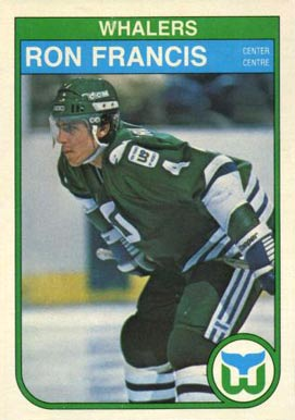 1982 O-Pee-Chee Ron Francis #123 Hockey Card