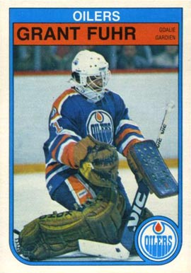 1982 O-Pee-Chee Grant Fuhr #105 Hockey Card