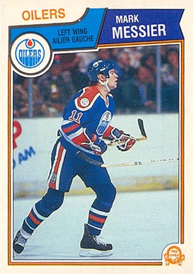 1983 O-Pee-Chee Mark Messier #39 Hockey Card