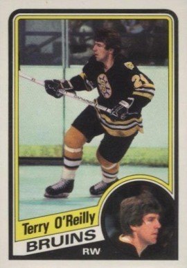 1984 O-Pee-Chee Terry O'reilly #13 Hockey Card