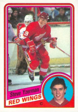 1984 O-Pee-Chee Steve Yzerman #67 Hockey Card